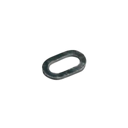 MIKADO Pierścień Owalny 4,5mm/ 10szt.