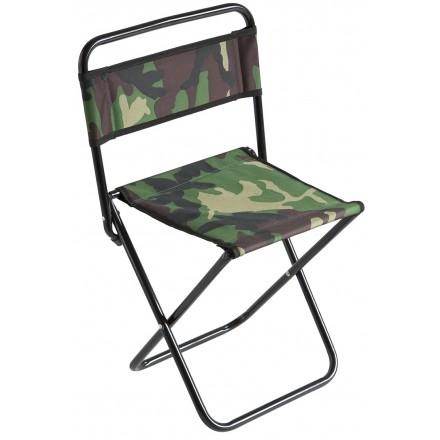 MIKADO krzesło wędkarskie CAMO turystyczne