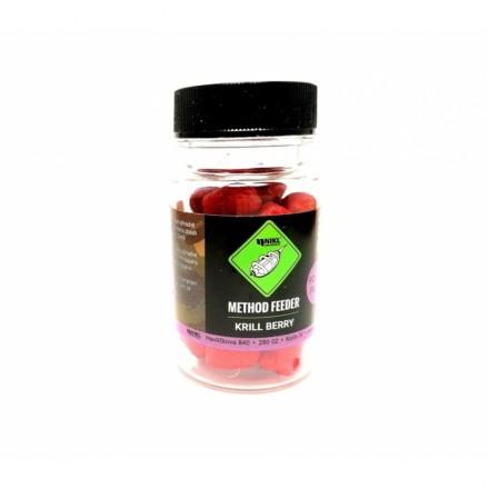 Nikl Feeder pellets powder dip Krill berry9mm