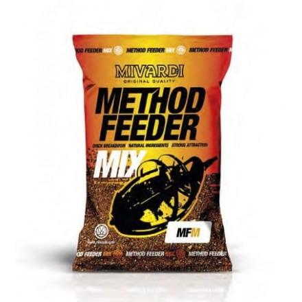 Mivardi METHOD FEEDER MIX - BLACK CHALIBUT 1KG