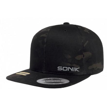Sonik - MultiCam Snapback Cap - Czapka z daszkiem