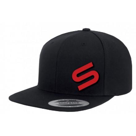 Sonik - Black Snapback Icon Cap - Czapka z daszkiem