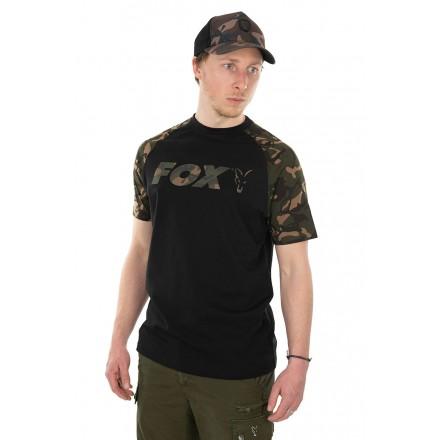 Fox koszulka Black Camo Raglan roz. S