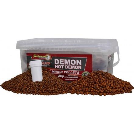 Starbaits Concept Pellet+Dip Demon Hot Demon mix 2-6mm 2kg.