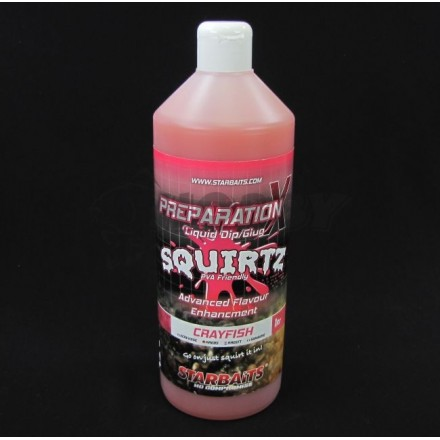 Starbaits Płyn Prep X Squirtz Crayfish1L