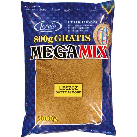 Lorpio Mega Mix Leszcz Sweet Almond 3kg