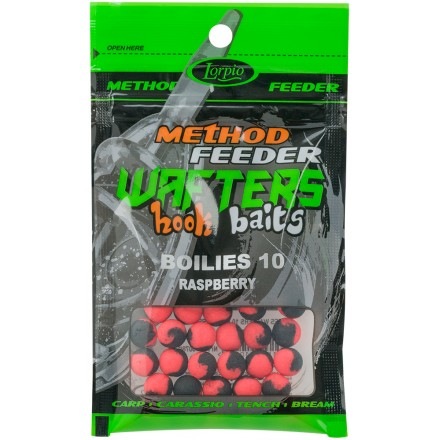 Lorpio Wafter Hook Baits Boiles Rasberry 10