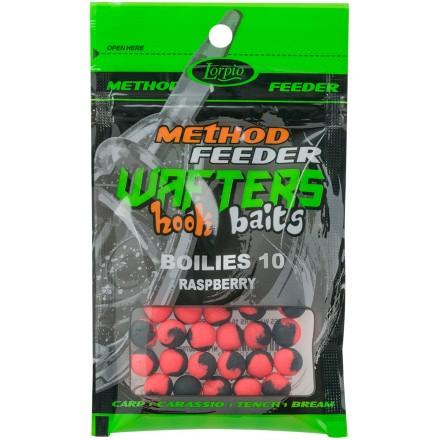 Lorpio Wafter Hook Baits Boiles Rasberry 10