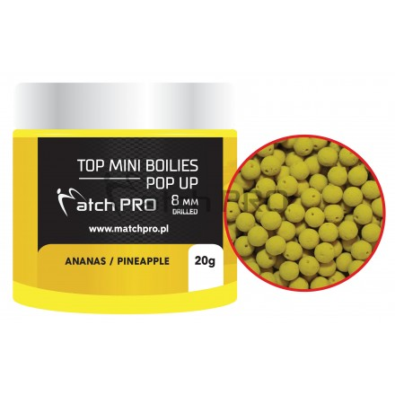 Match Pro Top Boiles Pop-Up Pineapple 8mm/20g