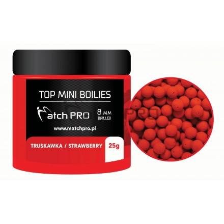 Match Pro Top Boiles Strawberry 8mm/25g