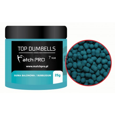 Match Pro Top Dumbells Bubblegum 7mm/25g