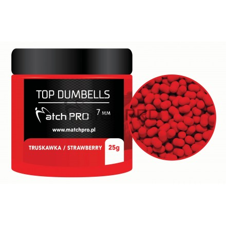 Match Pro Top Dumbells Strawberry 7mm/25g