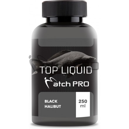 Match Pro Top Liquid Black Halibut 250ml