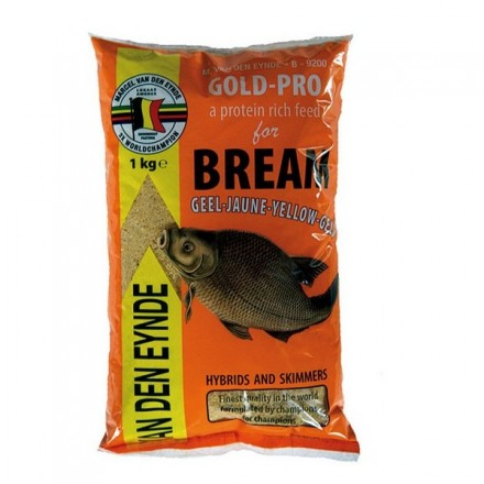 Marcel Van Den Eynde – zanęta Gold Pro Bream 1kg Yellow