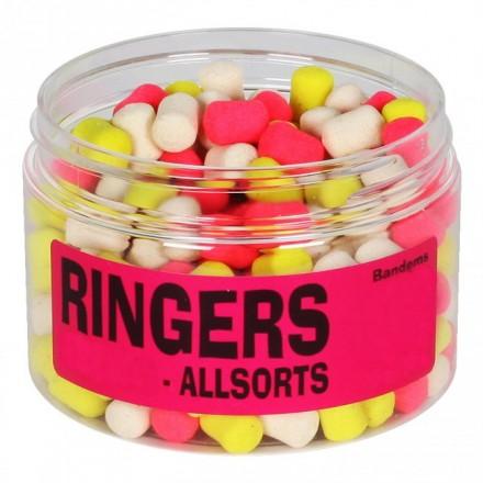 RINGERS banded Allsorts dumbells tonące 6mm 100g
