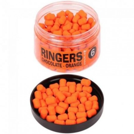 RINGERS dumbells Wafters 6mm Orange Chocolate 70g