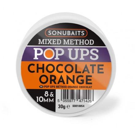 Sonubaits Mixed Method Pop-Ups 8 i 10 mm - Chocolate Orange