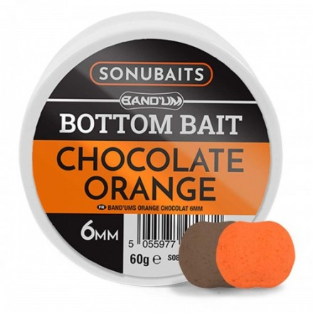 Sonubaits Band'Um Bottom Bait 8mm Chocolate Orange
