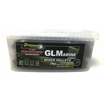 STARBAITS Concept pellet 2 i 6 mm mix GL Marine 2kg