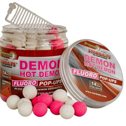 STARBAITS Concept fluo POP UP HOT DEMON 20mm 80g