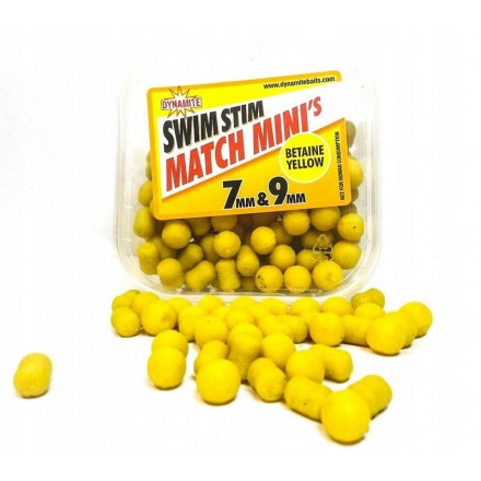 Dynamite Baits Swim Stim 7mm/9mm Betaine Yellow