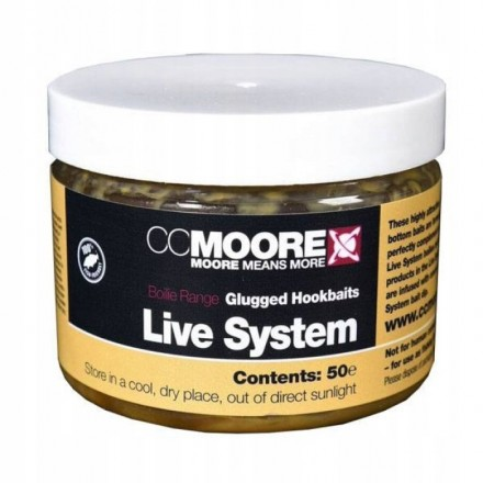 CC MOORE Live System Glugged Hookbaits 10x14mm