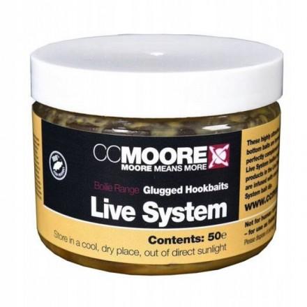 CC MOORE Live System Glugged Hookbaits 10x14mm