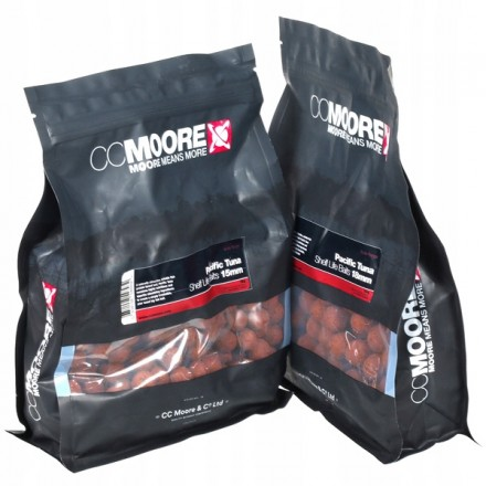 CC MOORE Pacific Tuna Boilie Shelf Life Baits 15mm