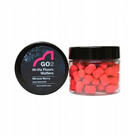 GO2 Hi-Viz Waftersy 8 mm Spotted Fin Miracle Berry