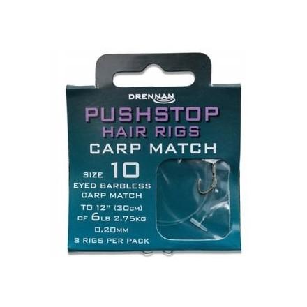 Drennan Przypony PUSHSTOP H'RIG Carp Match nr 8