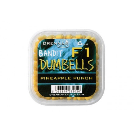 Drennan Pellet Method Dumbells F1 6 mm Pineapple