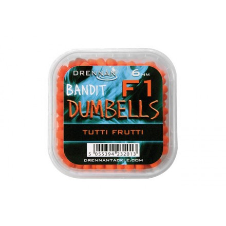 Drennan Pellet Method Dumbells F1 6 mm Tutti Frutt