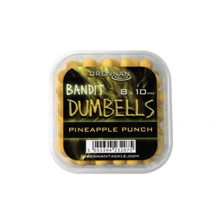 Drennan Bandit Pellet Dumbells 8/10 mm Pineapple