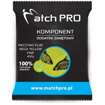 MatchPro Pieczywo TOP FLUO MEGA YELLOW FINE 400g