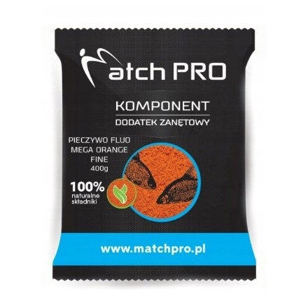 MatchPro Pieczywo TOP FLUO MEGA ORANGE FINE 400g