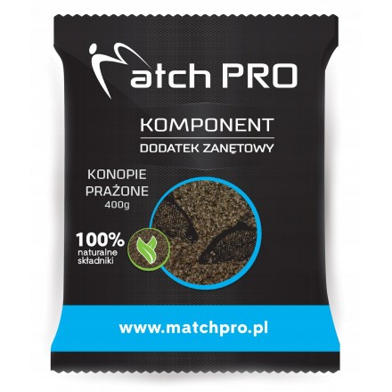 MatchPro TOP KONOPIE Prażone Dodatek 400g