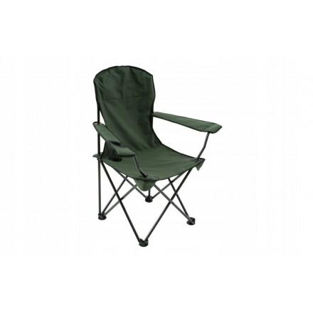 MIKADO Fotel ZIELONY CHAIR Krzesło WĘDKARSKIE