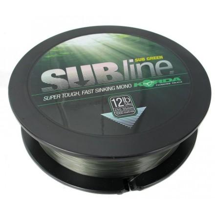 ŻYŁKA KORDA Subline Ultra 1000m Green 10lb 0,30m