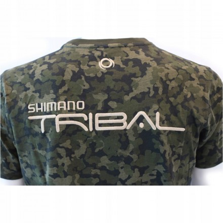 SHIMANO Koszulka T-SHIRT XTR Camo rozm L