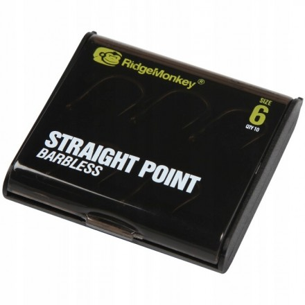 Ridge Monkey RM-Tec Straight Point Barbless size 2