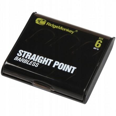 Ridge Monkey RM-Tec Straight Point Barbless size 2