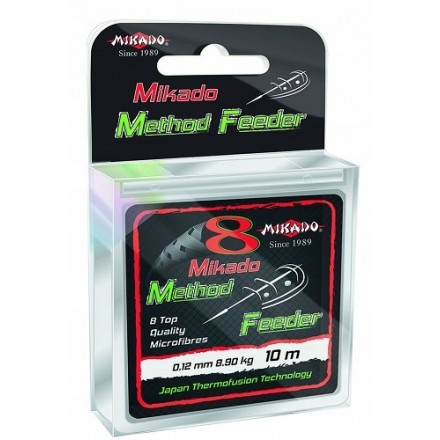 Mikado Plecionka Octa Method Feeder 014 10M Green