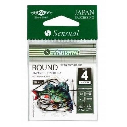 Mikado Haczyk Sensual ROUND z zadziorami nr 6 BN