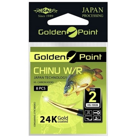 Mikado Haczyk Golden Point Chinu z uszkiem nr 4 GB
