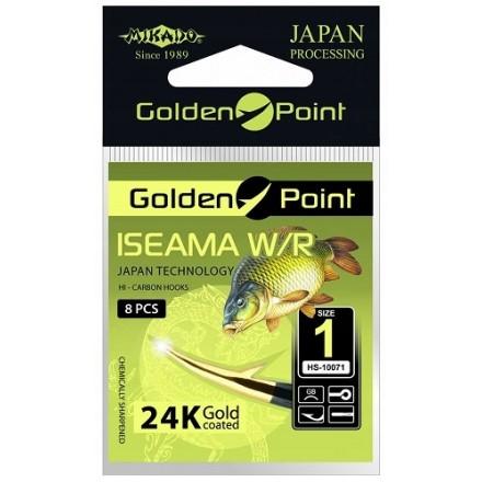 Mikado Haczyk Golden Point ISEAMA z uszkiem nr 4