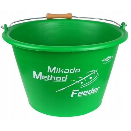 WIADRO MIKADO METHOD FEEDER 17L (ZIELONE)