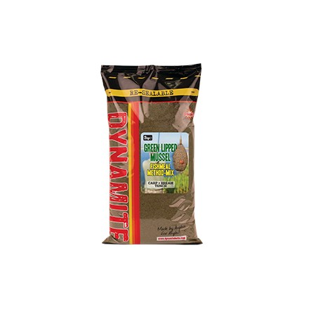Dynamite Zanęta Green Lipped Mussel METHOD MIX 2kg