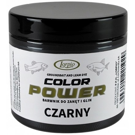 Lorpio Barwnik do Zanęt COLOR POWER czarny 165g