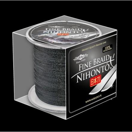 Mikado Plecionka NIHONTO FINE BRAID 025 BLACK 300M
