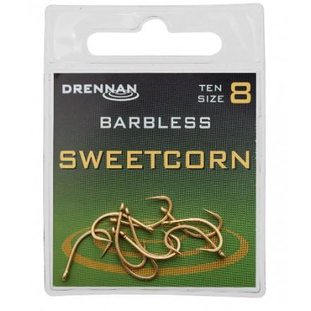 Drennan Haczyki Sweetcorn barbless Roz 8 10szt